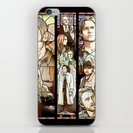 Supernatural Stained Glass iPhone Skin