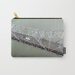 ARCH ABSTRACT 15: Old Bay Bridge, San Francisco Carry-All Pouch