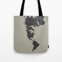 Dymaxion Map - Greys Tote Bag