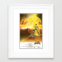 shingeki no kyojin Framed Art Prints featuring Shingeki no Kyojin - Titan Wars by Fancy Pants Artistry