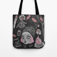 loll3 Tote Bags featuring Magical ϟ Autumn by lOll3