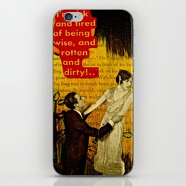 The Apology iPhone Skin