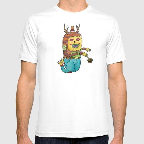 Burger time. T-shirt