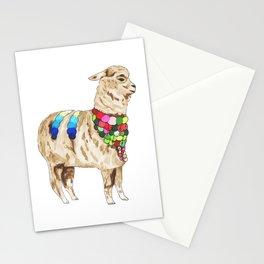 Peruvian Llama Stationery Cards