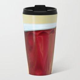 Warped Red Cup Travel Mug