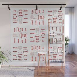 Love and Life Wall Mural
