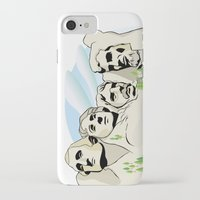 rushmore iPhone & iPod Cases featuring Mont Rushmore - United States by Dues Creatius