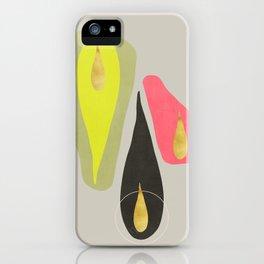 Vintage minimal improvisation 6 iPhone Case