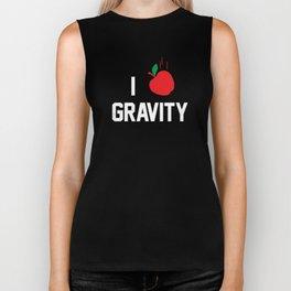 I heart Gravity Biker Tank