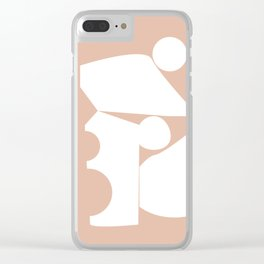 Shape study #16 - Inside Out Collection Clear iPhone Case