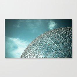 Biosphère Canvas Print