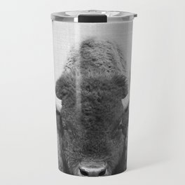 Buffalo - Black & White Travel Mug