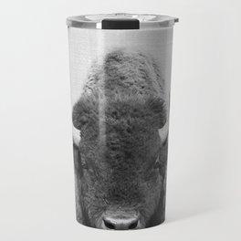 Buffalo - Black & White Travel Mug