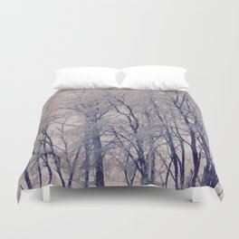 Winter tree II Duvet Cover