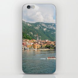 Bellagio in Lake Como Italy iPhone Skin