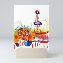 Fairground Mini Art Print
