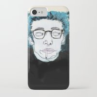 james franco iPhone & iPod Cases featuring James is King by Rebecca Span