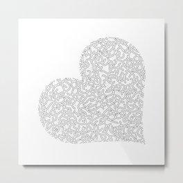Heart (4) Metal Print