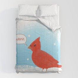 Winter Cardinal Comforters