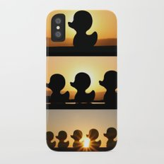 Ducks Ducks Ducks! iPhone X Slim Case