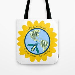 Save Bees, Bee a Keeper Tote Bag