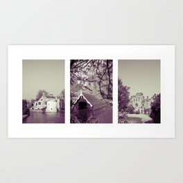 Scotney Trio Art Print