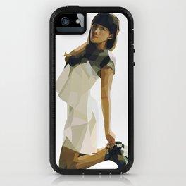 White Dress in a Dark Room iPhone Case