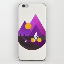 Bicycle Ride iPhone Skin