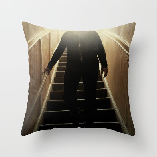 Stairway to the dark side _ vader descending  Throw Pillow