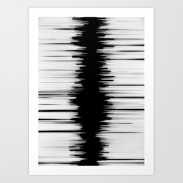 Waveform Art Print