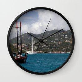 Yarrr Wall Clock