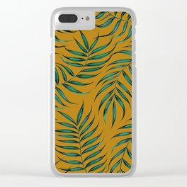 Sway on Yellow Ochre Clear iPhone Case