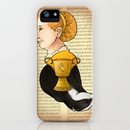 Helga Hufflepuff iPhone Case