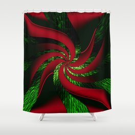 Dancing through the Holidays! Shower Curtain