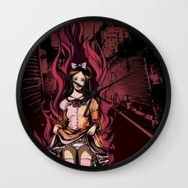 Flaming Lolita Wall Clock