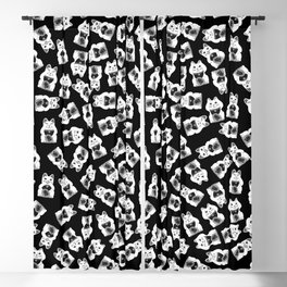 Three Smart Cats Blackout Curtain