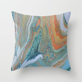 Moon Rock Throw Pillow