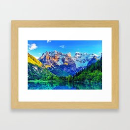 Magical View Framed Art Print