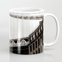 brooklyn Mugs featuring Brooklyn by Miuk