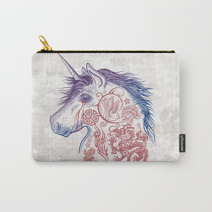 War Unicorn Carry-All Pouch