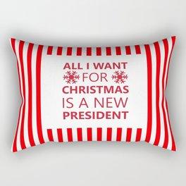 A New President Please Rectangular Pillow