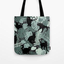 Garden cats Tote Bag