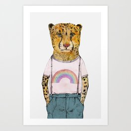 Little Cheetah Art Print