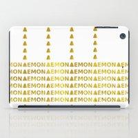 lemon iPad Cases featuring Lemon by ARTbyJWP