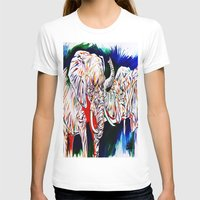 return T-shirts featuring TRIUMPHANT RETURN by PERRY DAEZIOUH