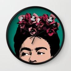Frida Kahlo, Celebrity Portrait Wall Clock
