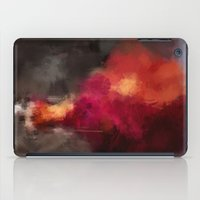 dress iPad Cases featuring Fire dress by Dnzsea