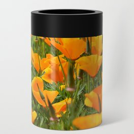 California Poppies Super Bloom Can Cooler