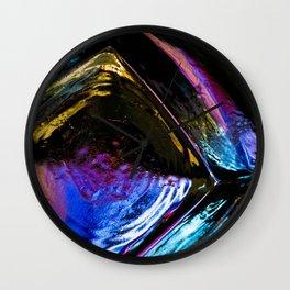 Empty Glass Wall Clock