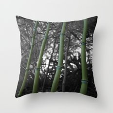What Would You Do For Bamboo? Throw Pillow
